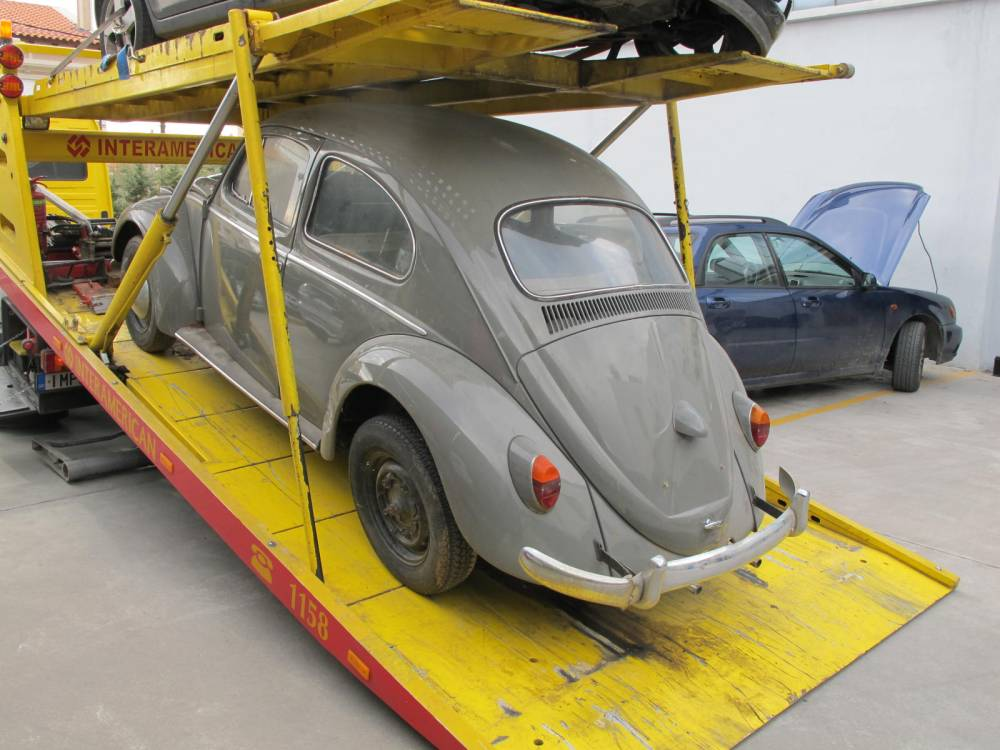 A 1962 VW Beetle joins the 'family' (5/6)