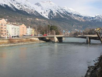 Innsbruck river & bridge