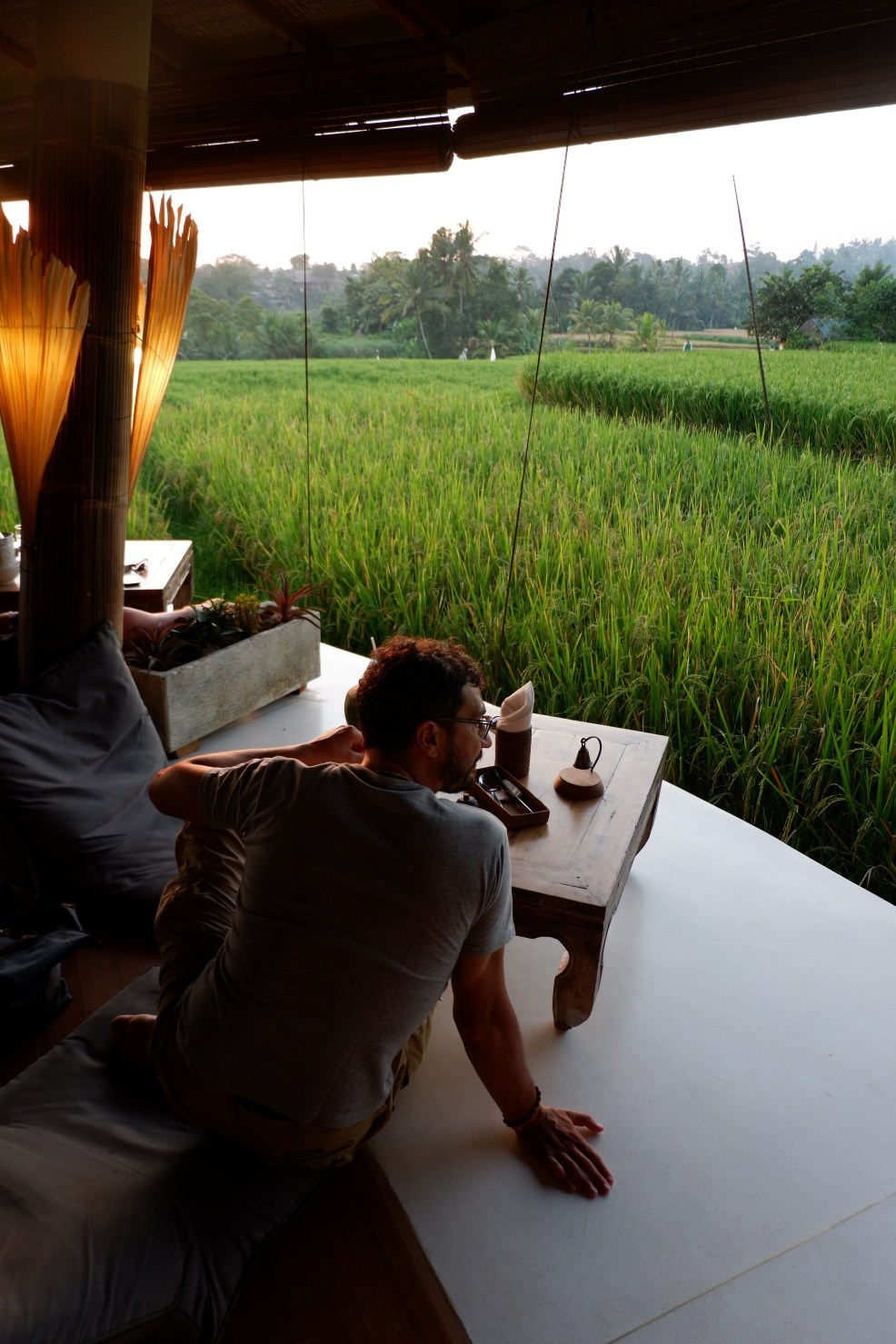 Sunset Spot in Ubud