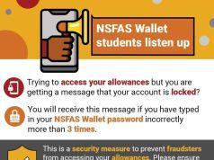 NSFAS Wallet password