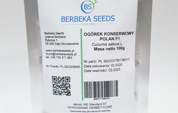 Ogórek konserwowy Polan F1 / Cucumis sativus L. – 100g