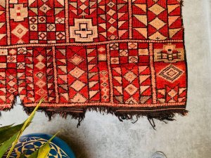 Stunning Vintage rug 5x10 Moroccan Rug - Berber Rug - Area rug - Authentic Azilal rug - moroccan style - berber carpet - tribal rug