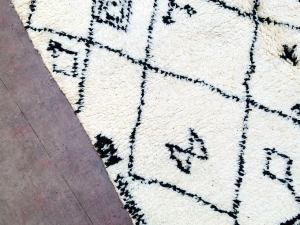 5x8 Authentic Beni ourain rug - Genuine wool Moroccan rug *Handknotted*