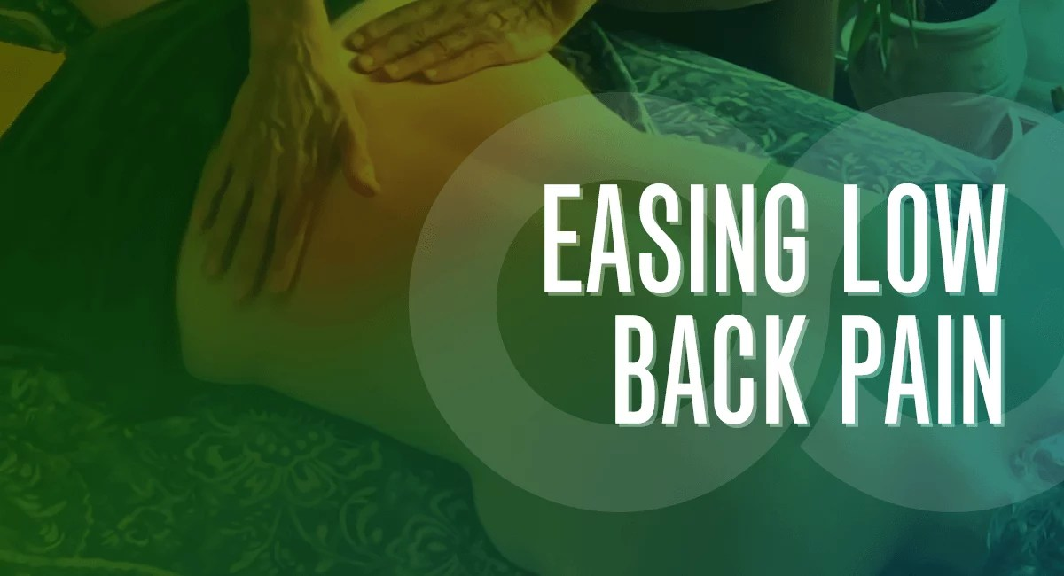 Easing Low Back Pain