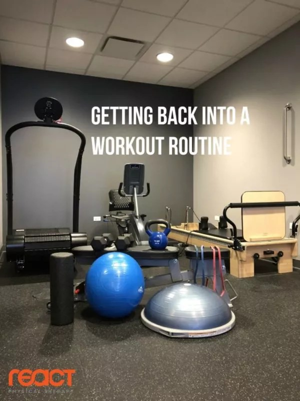 How To Get Into A Workout Routine