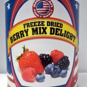 Berries Mixed Freeze Dried