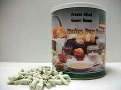 Green Beans Freeze Dried
