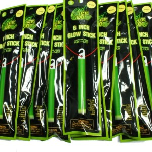 6 Inch Glow Sticks – 10 Pack Mixed Colors