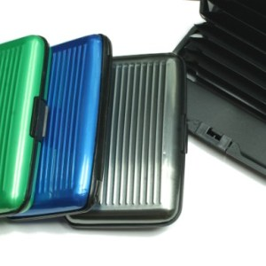 Credit Card Security Wallet - 10 PACK Assorted Colors