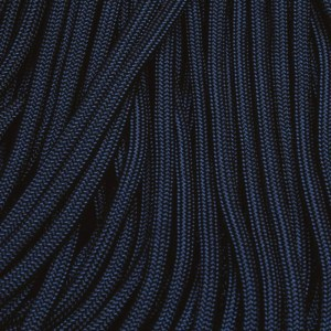 550 Paracord Blue Midnight 100 ft Made in USA