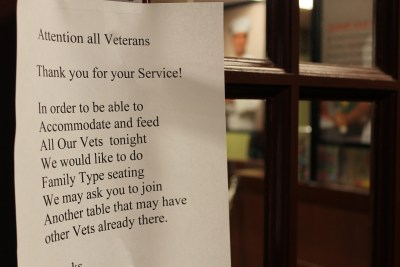 berean armed forces ministry veterans day meal at golden corral image (83)