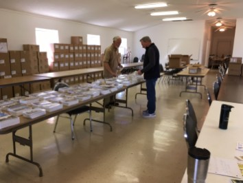 glennville georgia collating project for the troops 2018 military gospel packets berean armed forces ministry (img3)