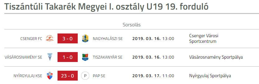 Vasarosnameny SE - Tiszakanyar SE U19 bajnoki labdarugo merkozes (4)
