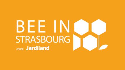 Logo Bee In Strasbourg blanc