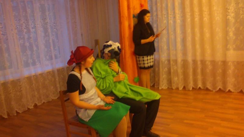 Красная шапочка в гостях у ребят