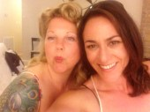 With my fab CA gal pal Natasha