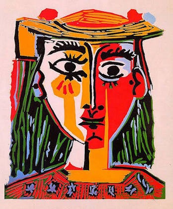 Picasso-Woman In Hat (1962)