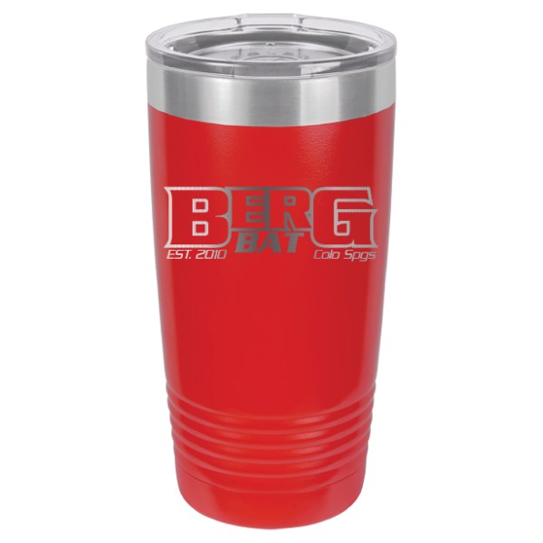 20oz Outline Logo Tumbler