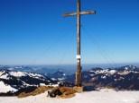 Riedberghorn - Balderschwang - auf dem Gipfel