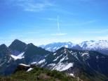 Blick zum Östlichen Johanneskopf und zum Hochlicht