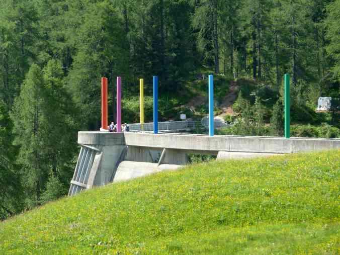 Kunst auf der Staumauer: Gottfried Hongegger, Culur