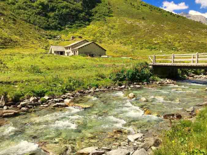 Alp Maroz Dora: Zwar bewirtschaftet, aber keine Einkehrmöglichkeit