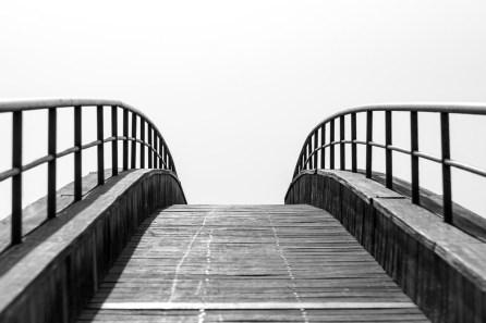 Bridge into nothing