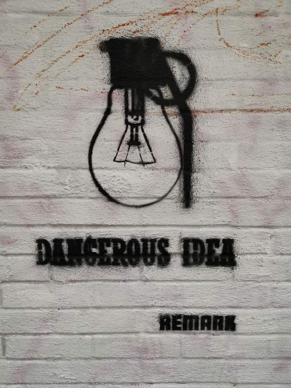 dangerous idea street art