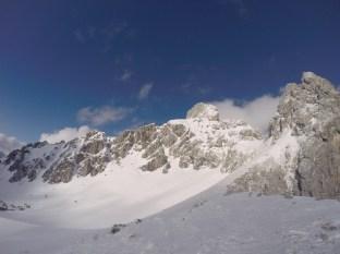 Traumhaftes Panorama: der Gosaukamm.