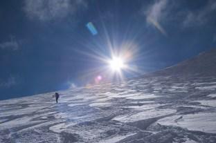 Gipfelhang des Eiskogels.