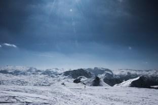 Ausblick vom Gipfel des Schneibstein