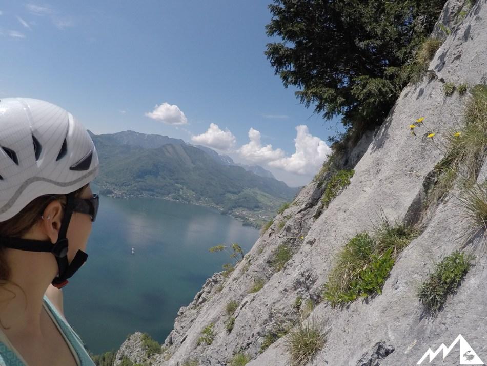 Alpinklettern Traunstein