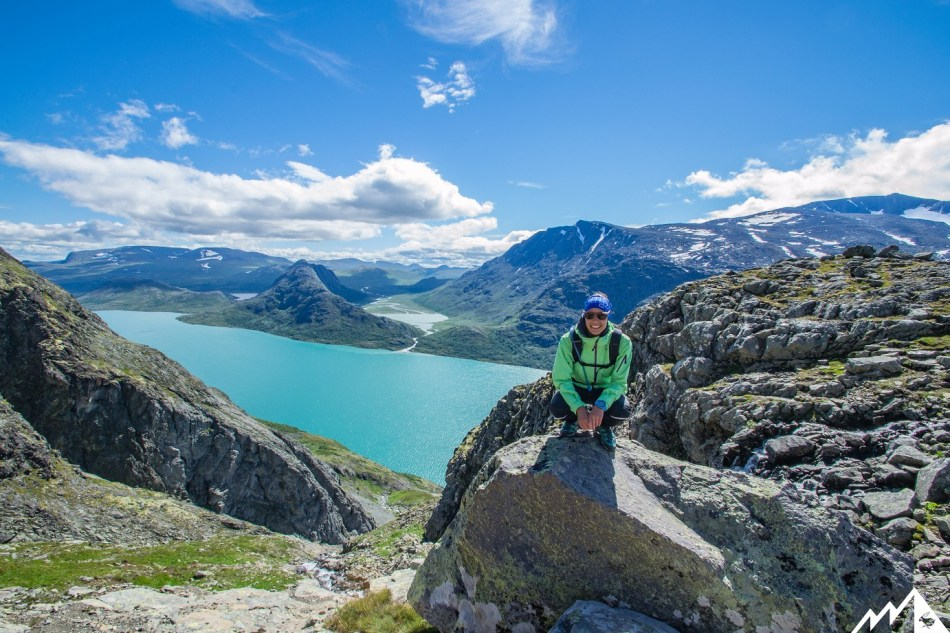 Besseggen Grat Norwegen