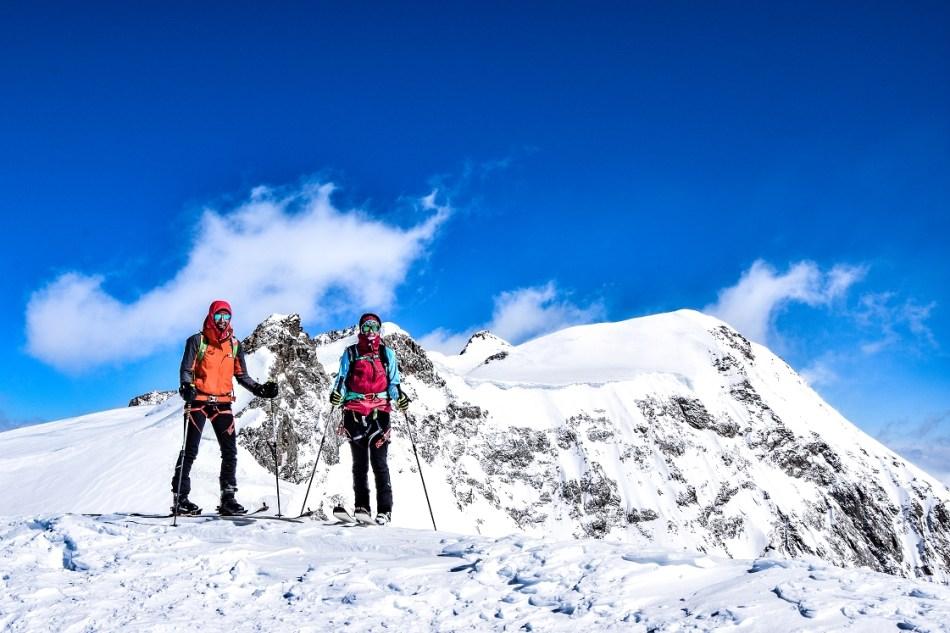 Vincent-Pyramide Skitour
