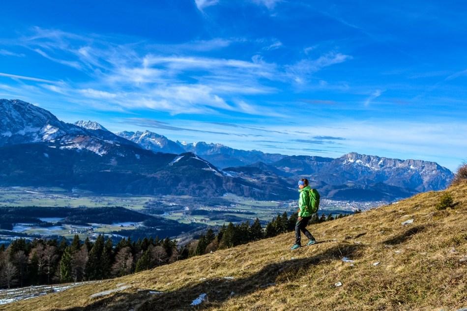 Knieschmerzen Bergabgehen