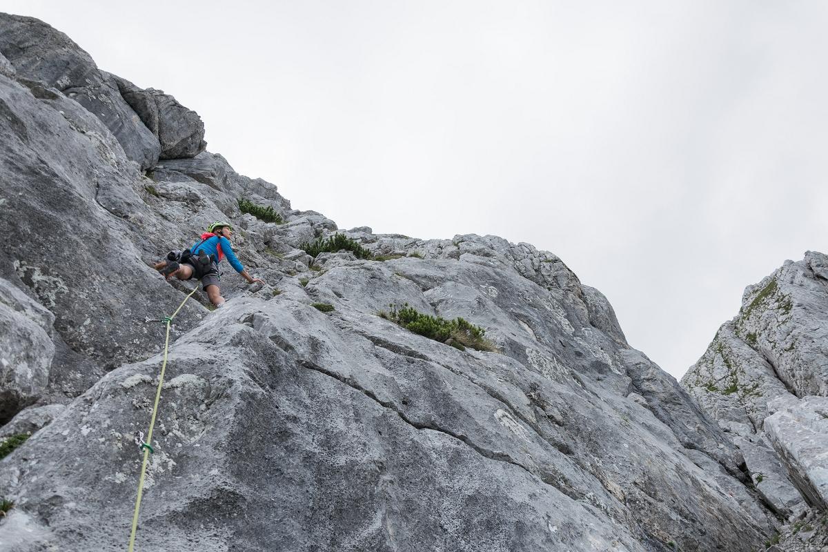 Klettersteig Buchstein : Großer buchstein: klettern und gaumenfreuden u2013 berghasen.com