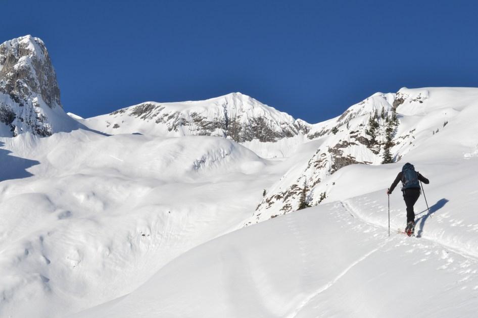 Auf Skitour im Tennengebirge.