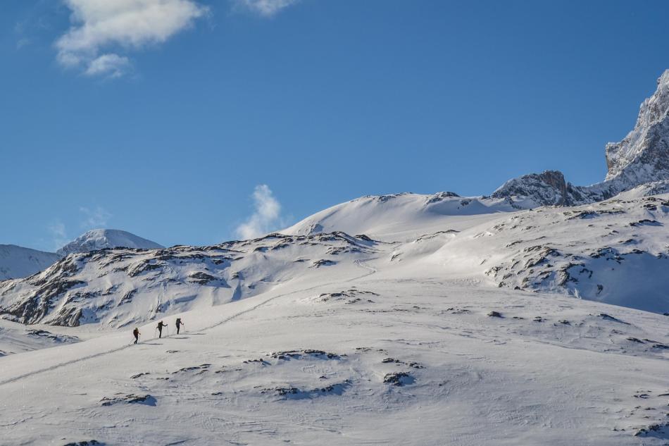 Rumpler-Runde Skitour Dachstein