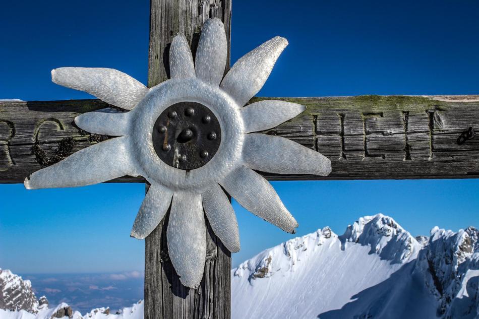 Gipfelkreuz Kammerlinghorn