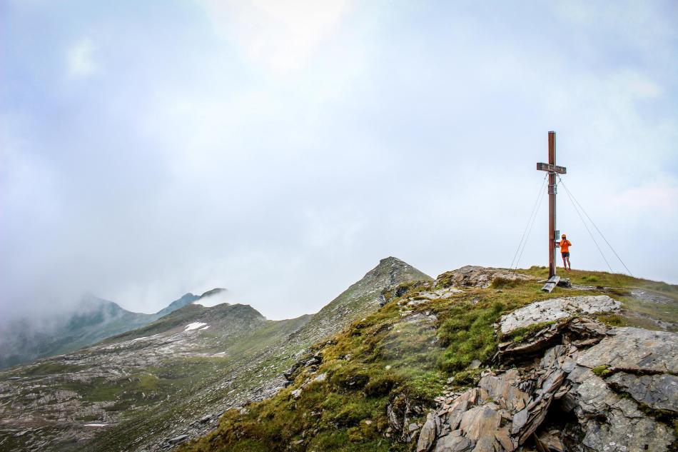 Gipfel des Silberpfennig im Raurisertal