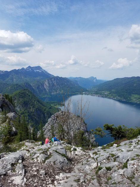 Wandern Attersee Schoberstein