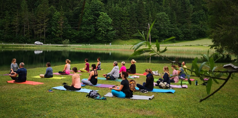 Yoga am Pillersee