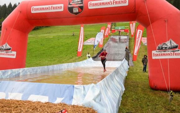 StrongmanRun Flachau: Die Riesenrutsche.