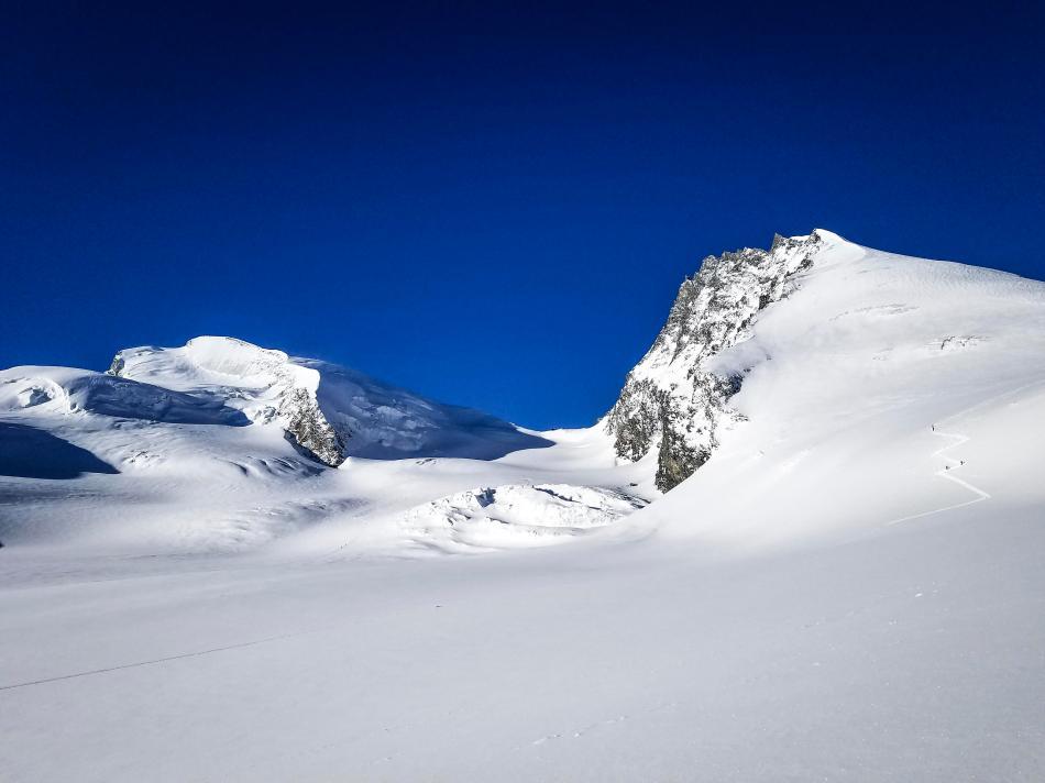 Britannia Hütte Skitouren Saas-Fee