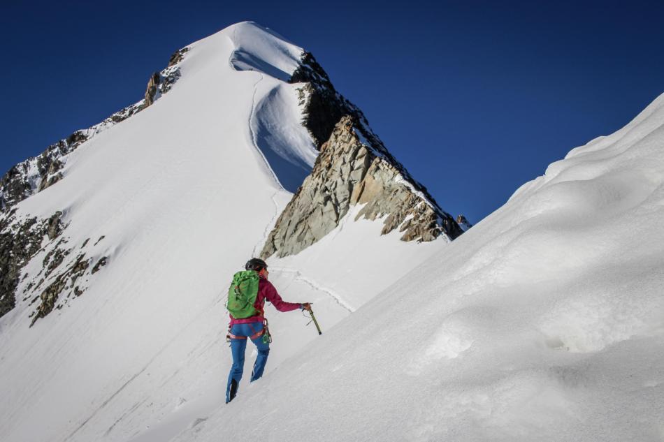 Piz Bernina Biancograt