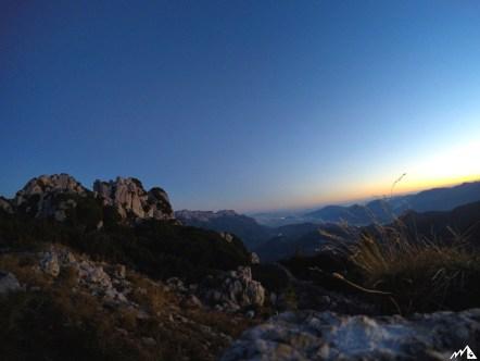 Blick vom Mannlgrat Richtung Salzburg