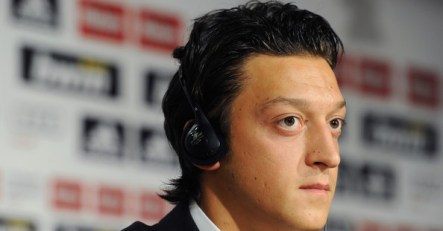 Mesut Ozil - our very own toad in the hole ;)