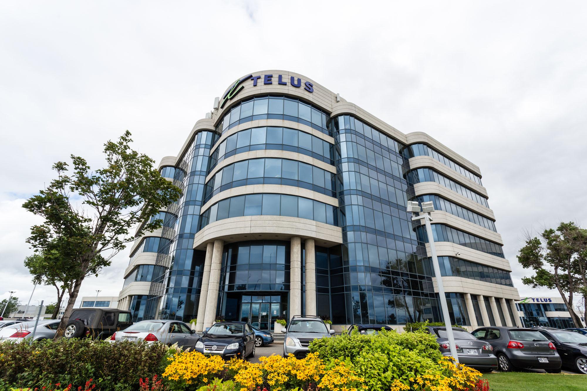 Office Buildings in a Corporate Park Telus