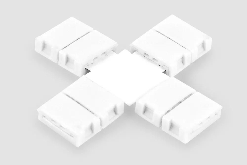 Złączka slim do taśmy LED typ X