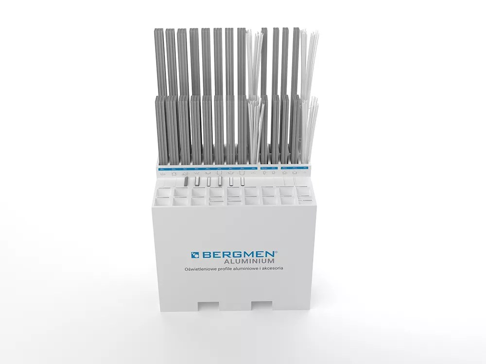 Zasobnik na profile aluminiowe